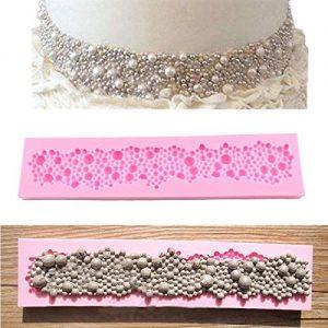 Vivian 3D Silicone Round Pearls Bubbles Chocolate Sugarcraft Fondant Cake Mould Mold