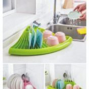 Bowl Drain Rack Multifunctional Kitchen Dish Spoon Shelf Bowl Rack Cabinet Dish Rack Drying Accessories