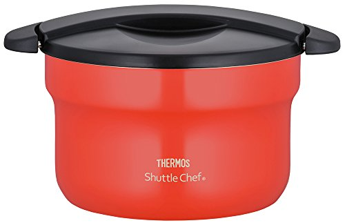 THERMOS vacuum heat insulation cooker shuttle chef 2.8L [for  3 to five people] tomato KBF-3001 TOM