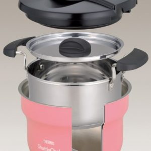 THERMOS vacuum thermal insulation cooker shuttle chef 1.6L Peach KBF-1600 PCH (J...