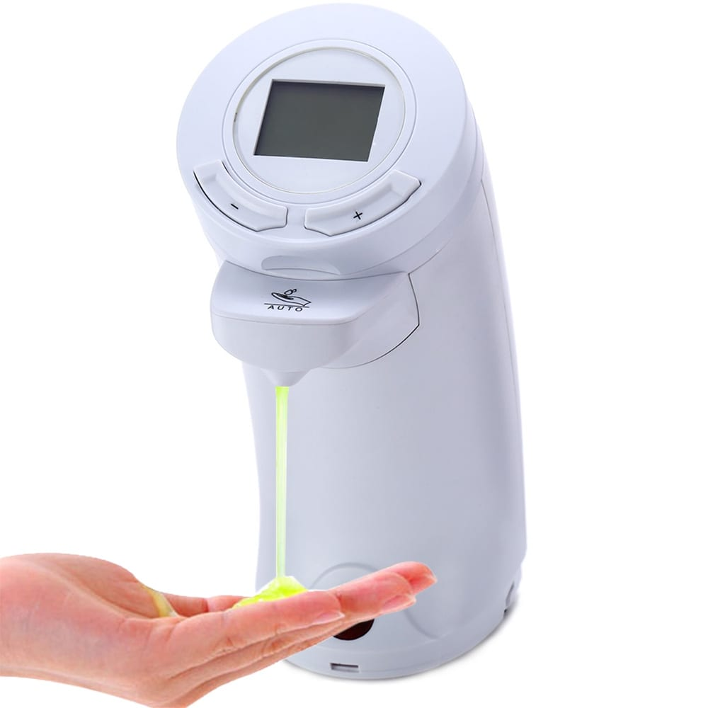 AD - 04 250ml Automatic Touchless Soap Dispenser IR Sensor Hand Washing Liquid Bottle with LCD Display